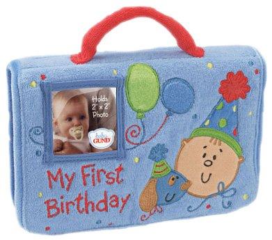 Gund:My First Birthday Album ~ Boy
