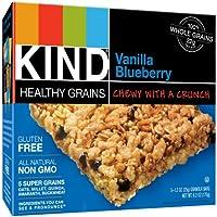 15-Count Kind 1.2 Ounce Healthy Grains Granola Bars (Vanilla Blueberry)