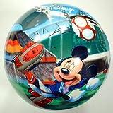 ディズニーコミックボール ミッキーWCサッカーデザイン 9インチ