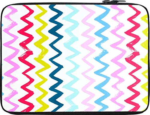 Snoogg Hori Pencil Waves 2571 12 To 12.6 Inch Laptop Netbook Notebook Slipcase Sleeve
