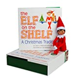 Elf on the Shelf Girl Dark Doll with Book