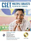 CSET Multiple Subjects Plus Writing Skills w/CD-ROM (CSET Teacher Certification Test Prep) by DenBeste Ph.D., Michelle, Charney, Jean O., Jordine Ph.D., M (2011) Paperback