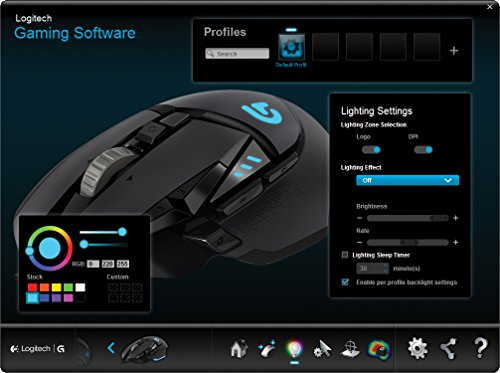 Logitech-G502-Proteus-Spectrum-RGB-Tunable-Gaming-Mouse-FPS-Mouse