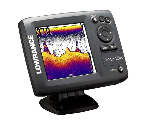 Lowrance elite 5x 5 inch waterproof fishfinder presents for Amazon fish finder
