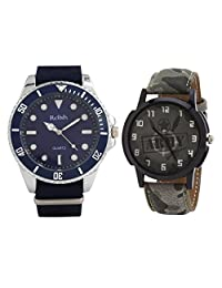 Relish Analog Round Casual Wear Watches For Men - B01A56YX9W