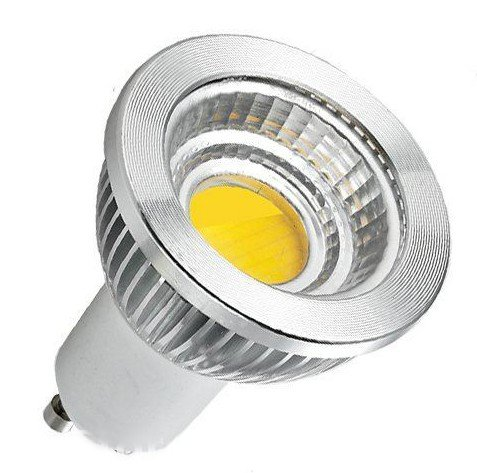 Gu10 Cob Led Spot Light 5-Watt High Power 110V Warm White And Non-Dimmable 10Pcs/Lot Free Shipping