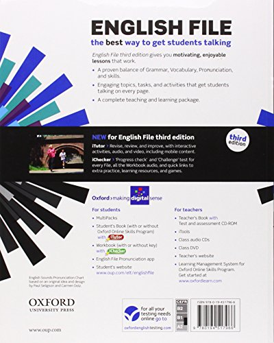 English File third edition: Pre-intermediate: MultiPACK A with iTutor and Online Skills