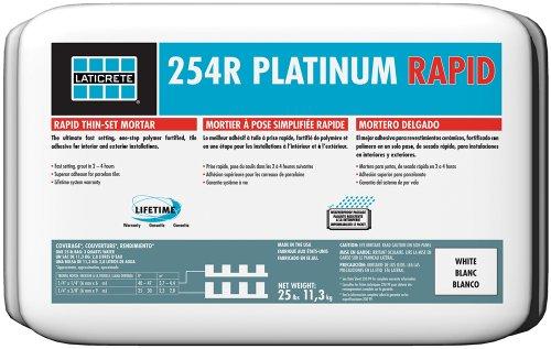 Laticrete 254R Platinum Rapid White - 25 lb Bag