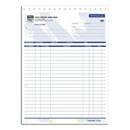 Colors Large Shipping Invoice