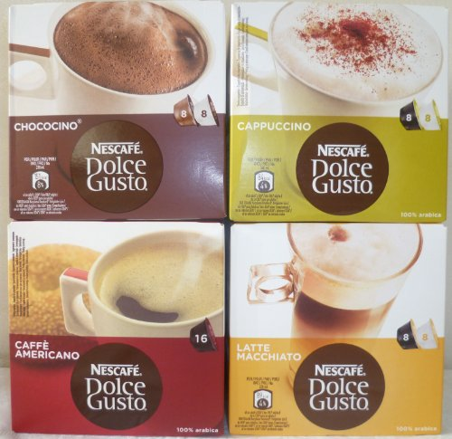 Nescafe Dolce Gusto® 4 Flavour Variety Pack (64 capsules)