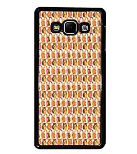 PrintDhaba Owl Pattern D-5903 Back Case Cover for SAMSUNG GALAXY A7 (Multi-Coloured)