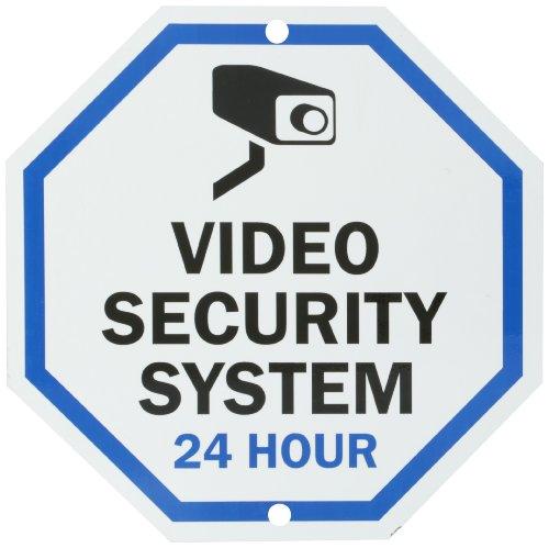 Smartsign Aluminum Sign Legend Quot Video Security System 24
