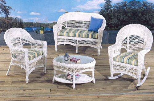 Fran's Wicker Furniture Saybrook Outdoor Patio Set