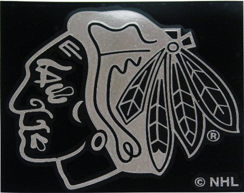 NHL Chicago Blackhawks Window Graphic (Chicago Blackhawk Window Decal compare prices)
