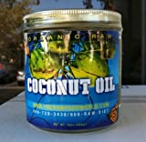 Truly Raw Centrifuged Extra-virgin Coconut Oil (Top Quality), 16 oz.