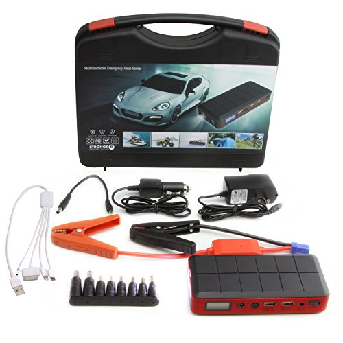 LB1 High Performance New Portable Jump Starter for 1997 Seadoo XP LIMITED JET SKI AND ZIEMAN TRAILER 12V 400A Peak Current Power Bank 12000mAh External Battery Pack 2 USB Output 5V/2.1A AC Output 5V/1A