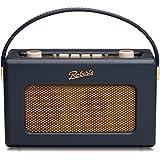 Roberts Revival RD60 Radio Vintage FM/DAB/DAB+ Caisson Bois Haute Densité Finition Simili Cuir - Bleu pastel