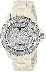 Swiss Legend Women's 20052-BGWFS Karamica Diamonds Collection Stainless Steel Watch with Link Bracelet