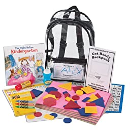 Childcraft Kindergarten Readiness Backpack Kit, Spanish