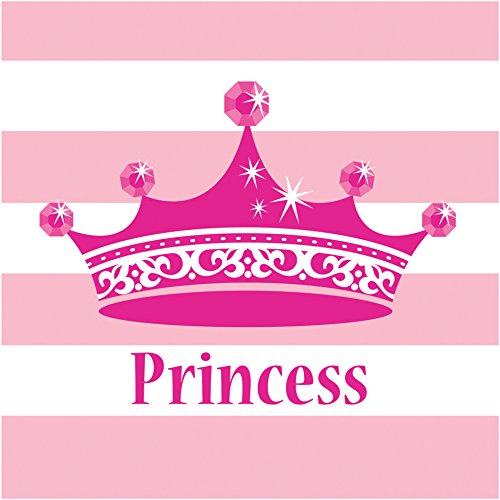 Princess Royalty Lunch Napkins, Pink