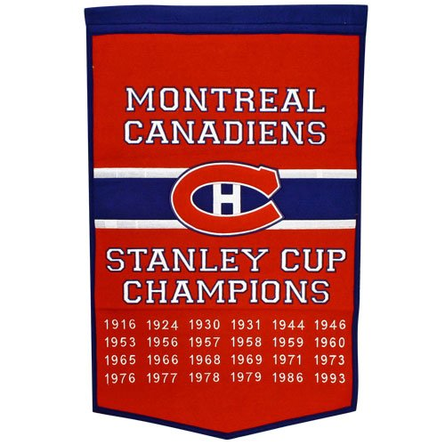 NHL Montreal Canadiens Wool Dynasty Banner