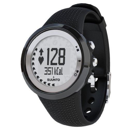 Suunto M4 Mens Heart Rate Monitor - Black/Silver