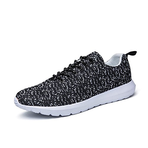 CIOR-Men-and-Women-Lightweight-Lace-Up-Casual-Running-Shoes-with-Knitting-Upper