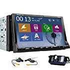 Now Free WIRELESS Backup Camera Included 7-inch Double 2 Din TFT Screen WINDOWS CE 8.0 In-dash Car DVD Player with