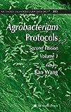 Agrobacterium Protocols: Volume I (Methods in Molecular Biology)