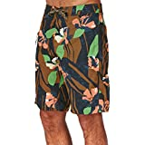 Patagonia Wavefarer Board Shorts - Abstract Floral/Navy Blue