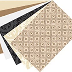 Martha Stewart Crafts Mat Pad, Neutrals 6-3/4 by 4-3/4 Inches, 24 Sheets