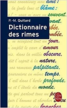 Wedding Registry Visa Gift Card : Dictionnaire Des Rimes (Ldp Dictionn.) (French Edition): P. M. Quitard ...