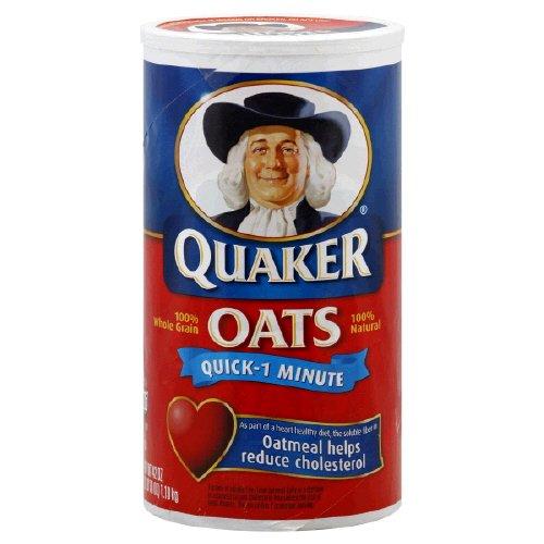 Quaker Quick-1 Minute Oats 42 oz. (Pack of 3)