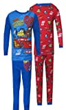 Disney Pixar Cars Team Lightning McQueen 4 Piece Pajama Set for boys