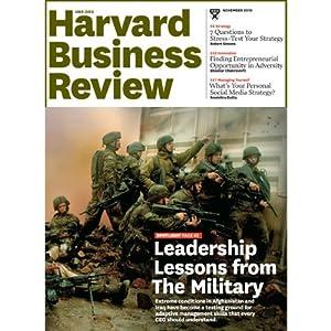 Harvard Business Review, November 2010 Periodical