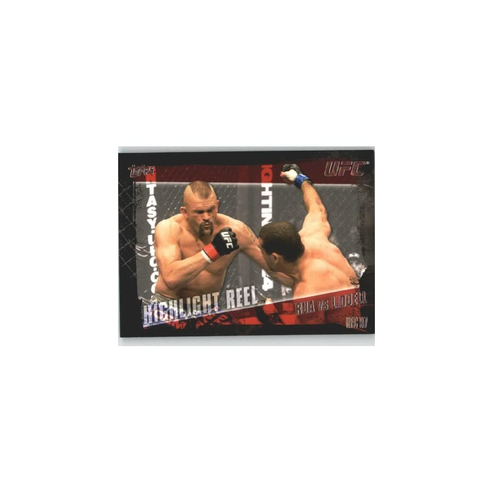 2010 Topps UFC Trading Card # 185 Mauricio Rua vs Chuck