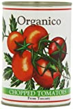 Organico Chopped Tomatoes Organic from Tuscany 400 g (Pack of 12)