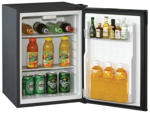 Caldura 40 litre Silent Mini Fridge (Black)