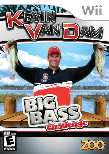 Kevin VanDam's Big Bass Challenge - Nintendo Wii - 1