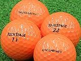 【Aランク】【ロゴなし】ツアーステージ V10 LIMITED オレンジ 2014年モデル 12個セット【ロストボール】