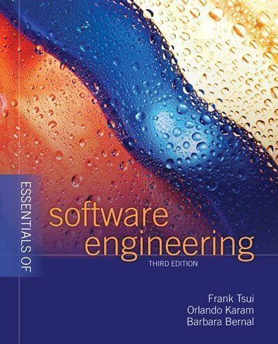Essentials Of Software Engineering 3rd (third) Edition