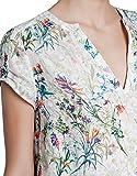 (アールポート) R-port レディース 花柄 半袖シャツ S