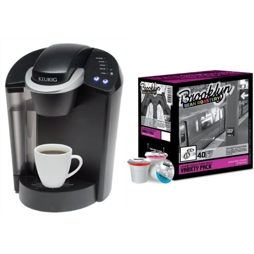 Keurig Brewer and Variety Pack Single Serve Cups