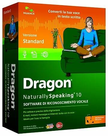 Nuance Dragon NaturallySpeaking v.10.0 Standard
