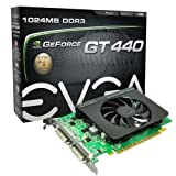 51krfwh4TbL. SL160  EVGA GeForce GT 440 1024 MB DDR3 PCI Express 2.0 2DVI/Mini HDMI Graphics Card, 01G P3 1441 KR