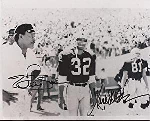 Marcus Allen & Willie Brown Oakland Raiders Signed Autographed 8x10 Photo W coa -... by Sports Memorabilia