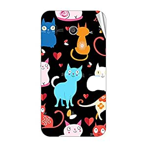 Garmor Designer Mobile Skin Sticker For Huawei C8815 - Mobile Sticker