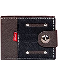 Black And Brown Mens Imported Wallet