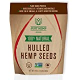 Just Hemp Foods 100 Percent Natural Hulled Hemp Seeds, 24 Ounce