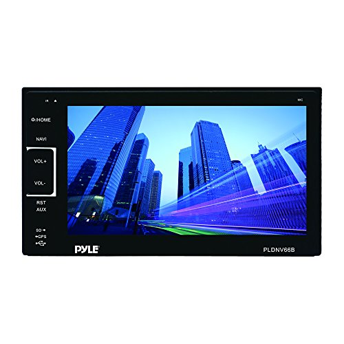 Pyle PLDNV66B 6.5-Inch Video Headunit Receiver